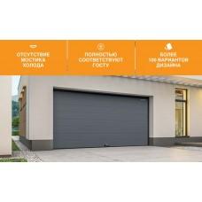 Достоинства и недостатки секционных ворот для гаража RSD01 и RSD02