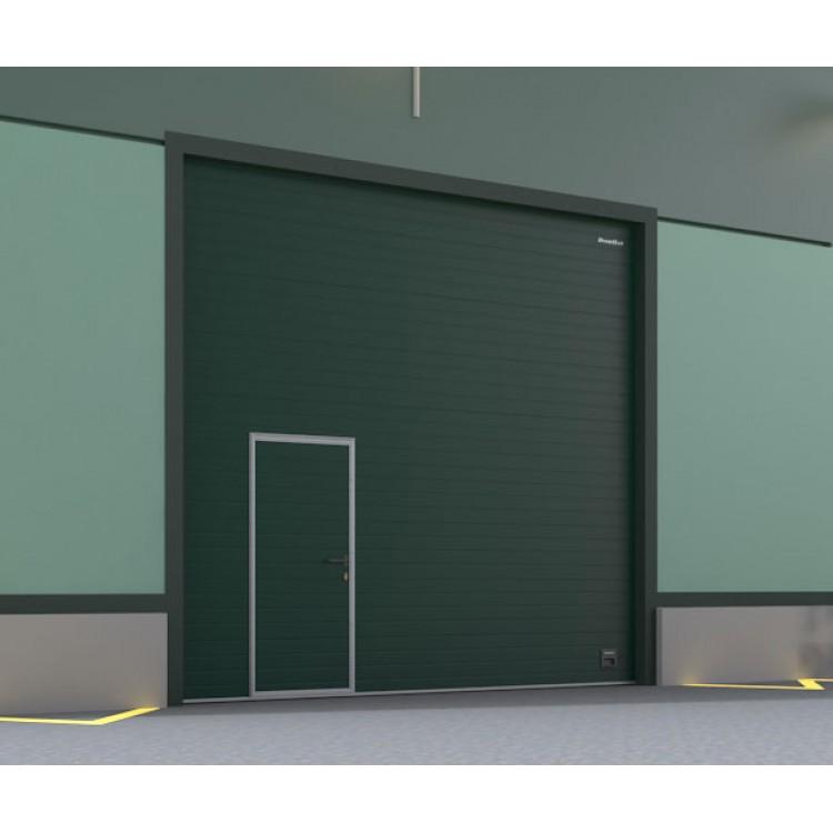 Ворота ISD01 3000x2500 мм с калиткой