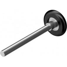 Ролик для секционных ворот 120 мм Дорхан