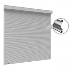 Рольставни на окна 1000x1000 мм из стального профиля RHS22