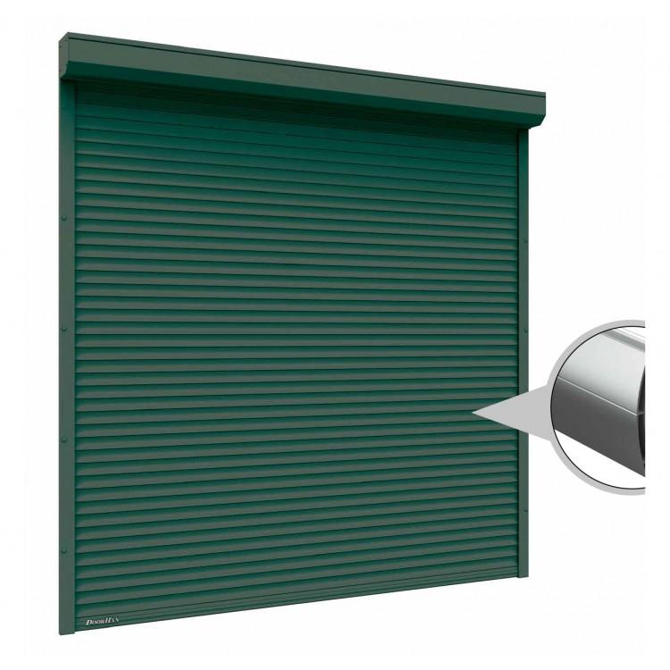 Рольставни на окна 1500x1500 мм из экструдированного профиля RHE45M