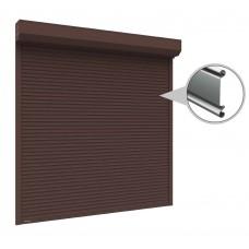 Рольставни на витрину из стального профиля RHS52 1500x1500 мм