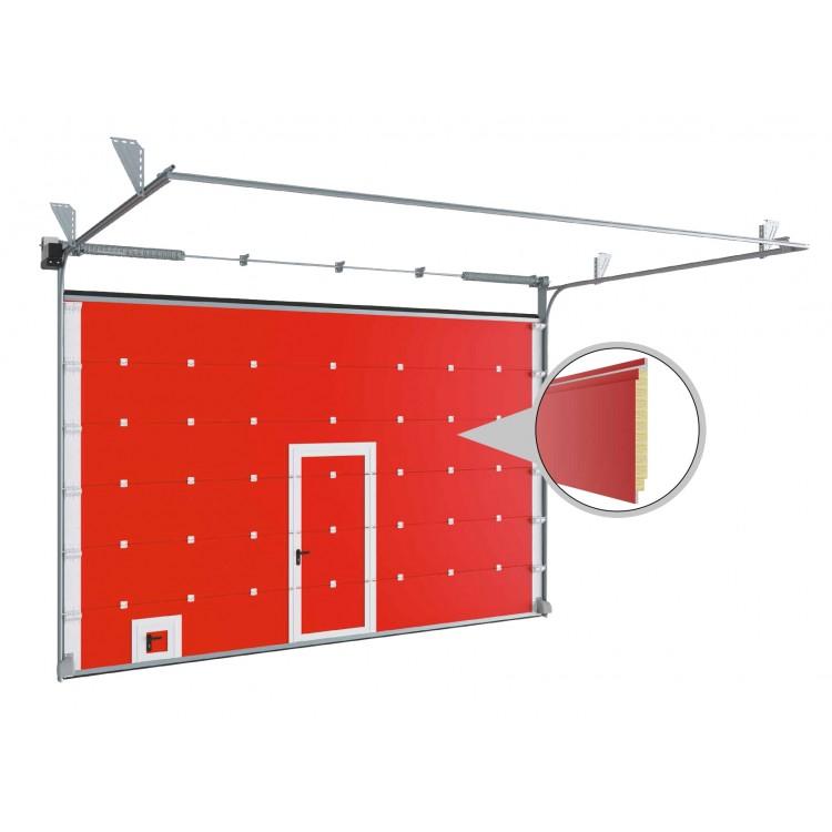Противопожарные секционные ворота с классом огнестойкости EI60 3000x2500 мм