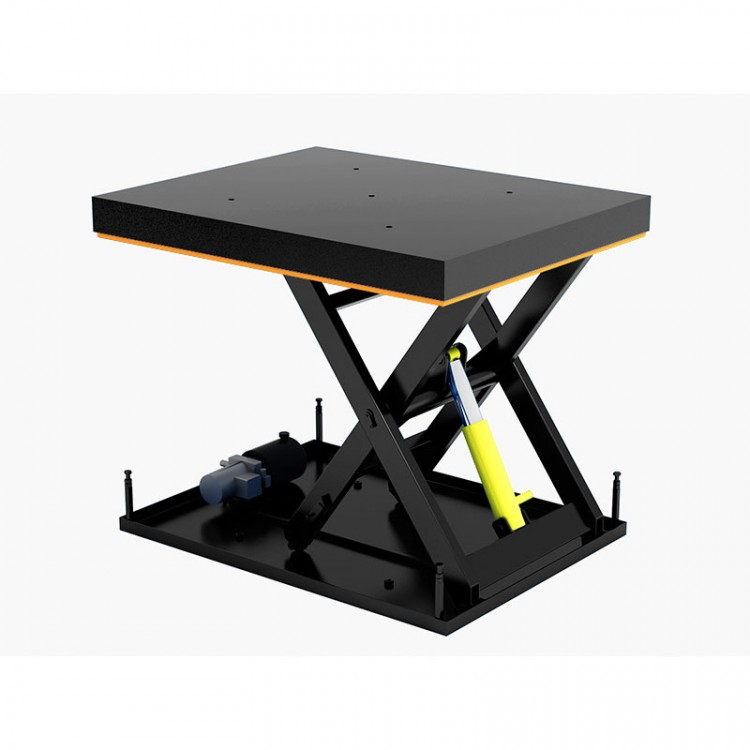 Гидравлический подъемный стол Дорхан с одной парой ножниц