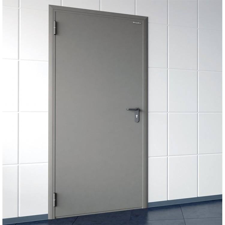 Техническая дверь одностворчатая
