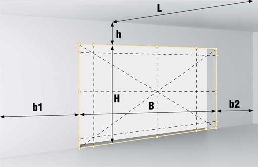 Как сделать замер секционных ворот